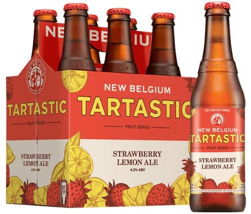 new belgium strawberry lemon
