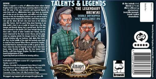 Beer-Pedia.com - Amager / Brewski - Hazed Envy