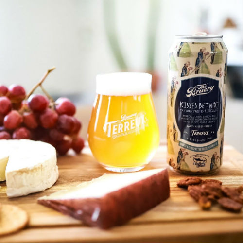 Beer-Pedia.com - Bruery Terreux / Dogfish Head - Kisses Betwixt Mr. And Mrs. This Is Ridiculous