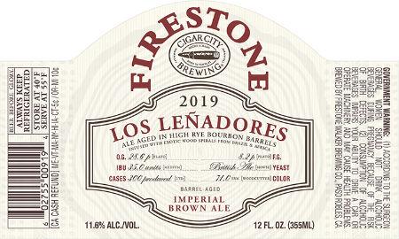 Beer-Pedia.com - Firestone Walker / Cigar City - Los Leñadores