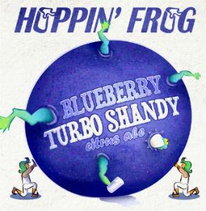 Beer-Pedia.com - Hoppin' Frog - Blueberry Turbo Shandy Citrus Ale
