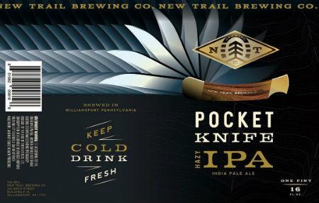 Beer-Pedia.com - New Trail - Pocket Knife