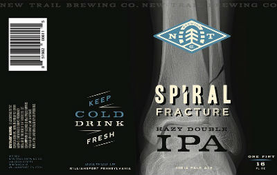 Beer-Pedia.com - New Trail - Spiral Fracture / Red Line