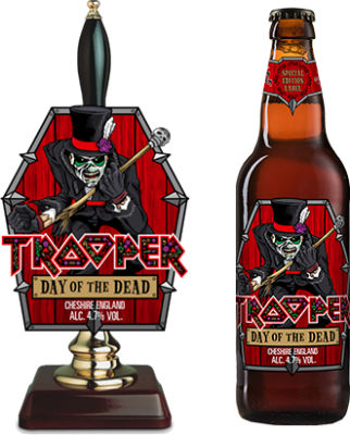 Beer-Pedia.com - Robinsons - Trooper: Day Of The Dead