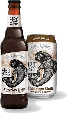 Beer-Pedia.com - SweetWater - 420 Strain Chocolope