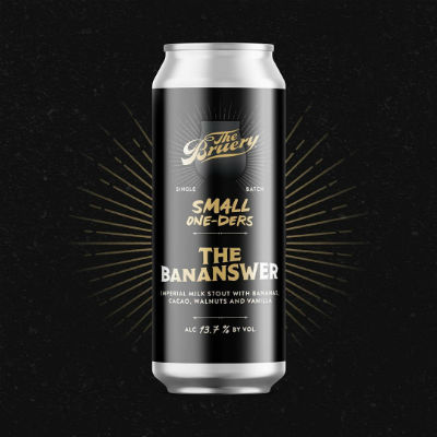 Beer-Pedia.com - The Bruery - The Bananswer