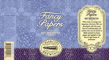 Beer-Pedia.com - Cigar City - Fancy Papers