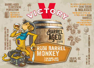 Beer-Pedia.com - Victory - Rum Barrel Monkey