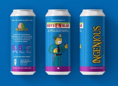 Beer-Pedia.com - Ingenious - BoysEN-Blue / Chief Cherry / Healing Power