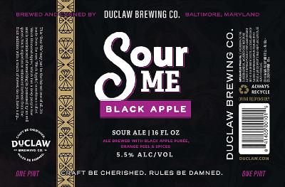 Beer-Pedia.com - DuClaw - Black Apple