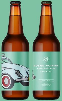 Beer-Pedia.com - Collective Arts - Cosmic Machine / Faraway Places