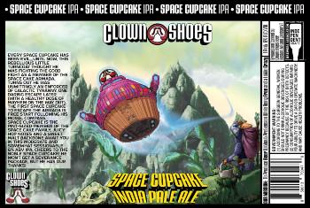 Beer-Pedia.com - Clown Shoes - Space Cupcake