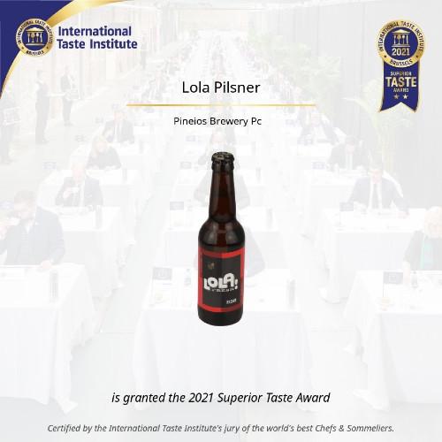 Beer-Pedia.com - Υψηλή Διάκριση Για Την LOLA Pilsner